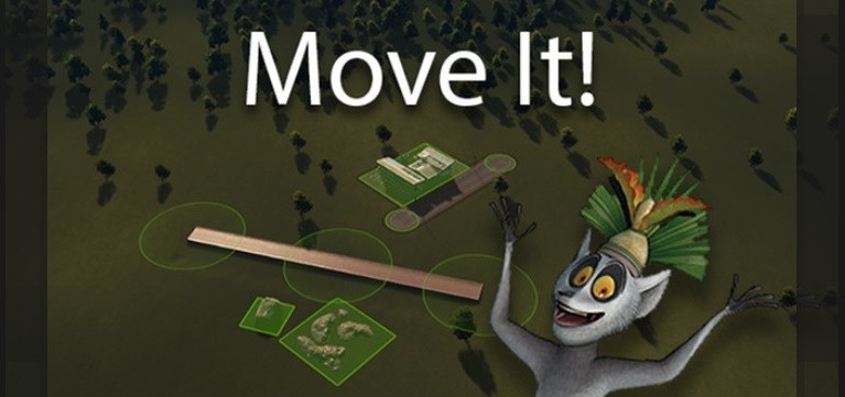 Мод Move It для Cities Skylines