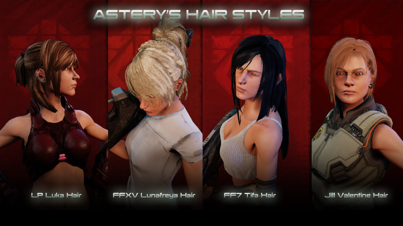 мод WOTC Female Hair Pack для XCOM 2