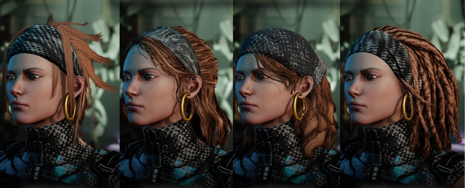 WOTC Female Hair Pack для XCOM 2