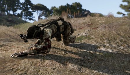 Мод Project injury reaction для ARMA 3