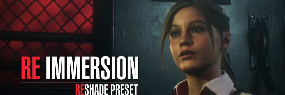 Мод RE IMMERSION-RESHADE для Resident Evil 2 Remake