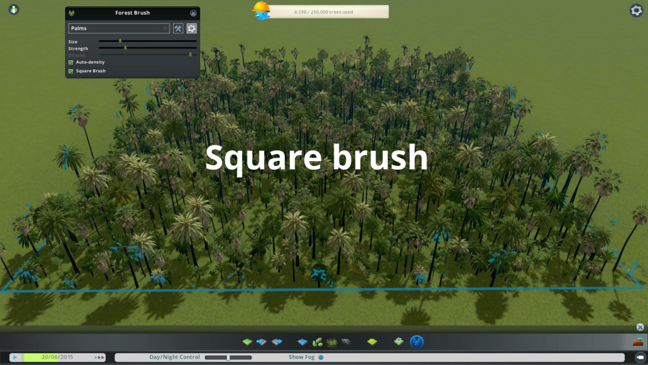 Скачать Мод Forest Brush для CITIES SKYLINES