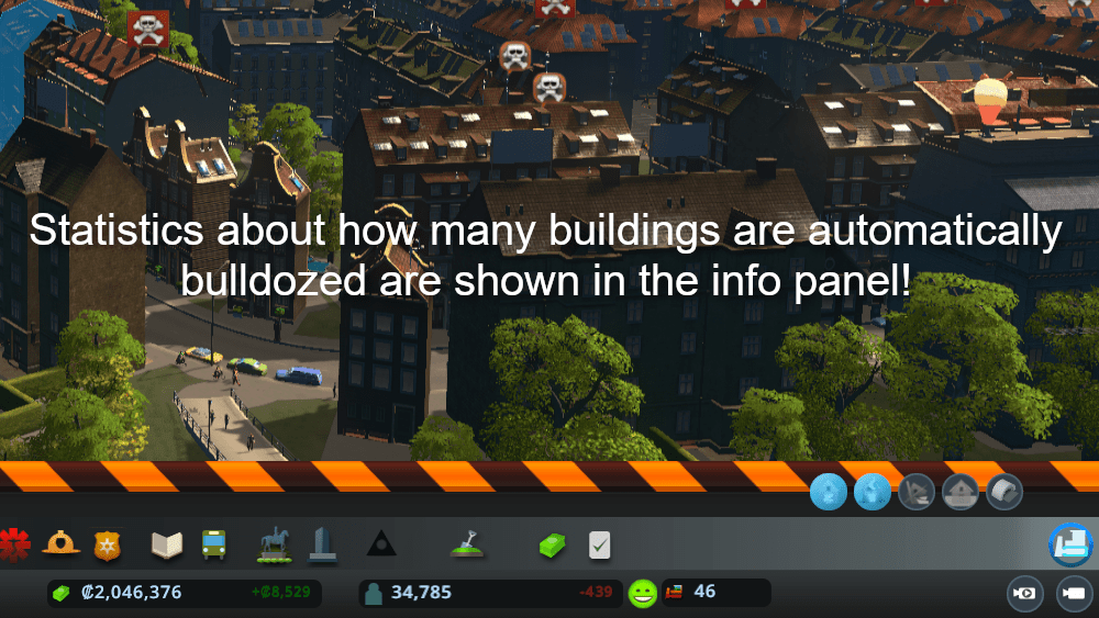 Bulldoze It! CITIES SKYLINES