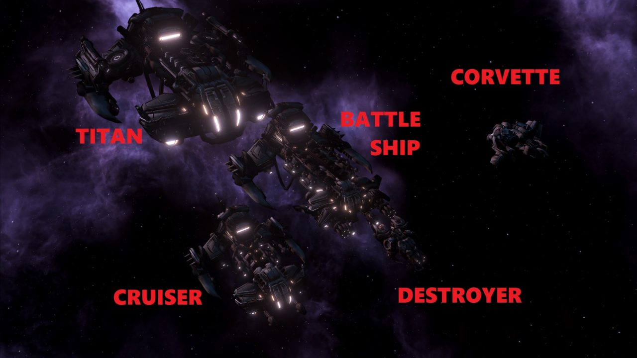 Terran Ship Set