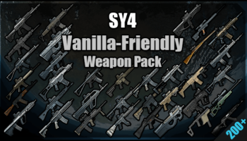 Скачать мод [SY4] Vanilla-Friendly Weapon Pack (1.0) для RimWorld