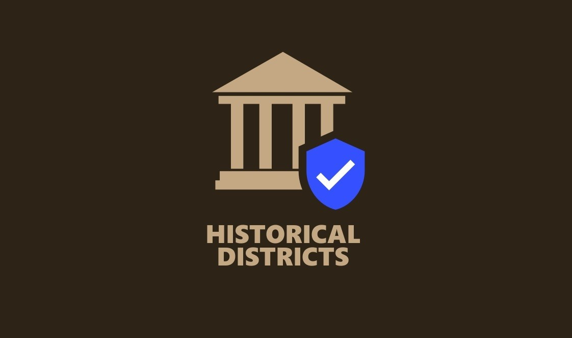 скачать Мод Historical Districts - исторические районы для Cities Skylines