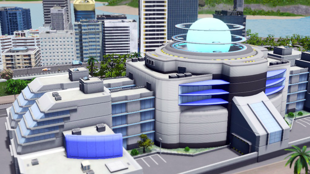 Мод Quad Singularity для Cities: Skylines