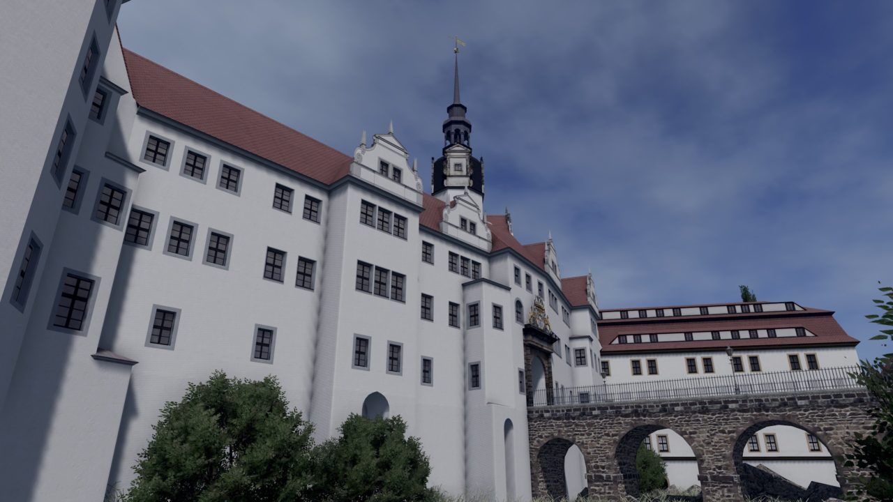 Мод Hartenfels Castle, Torgau для Cities: Skylines