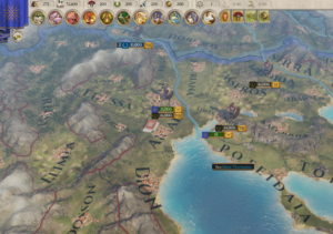 Мод Alternative Macedon Sun для Imperator: Rome