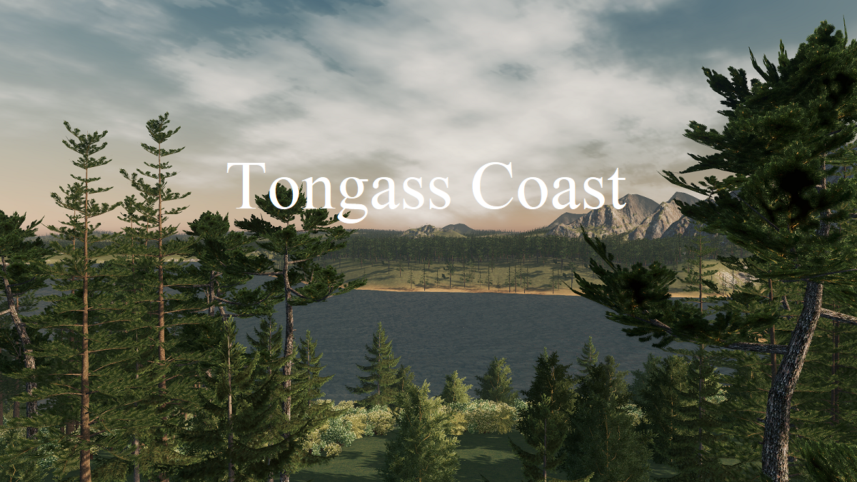 Карта Tongass Coast для Cities: Skylines