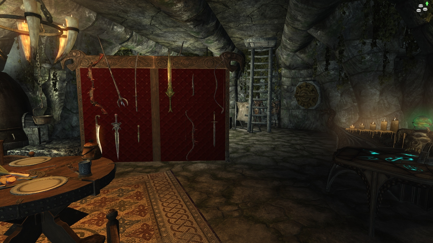 Мод дом Cellar workshop for market house для Enderal: Forgotten Stories