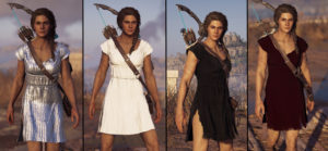 Мод Different Colour Cloth for Kassandra для Assassin's Creed Odyssey