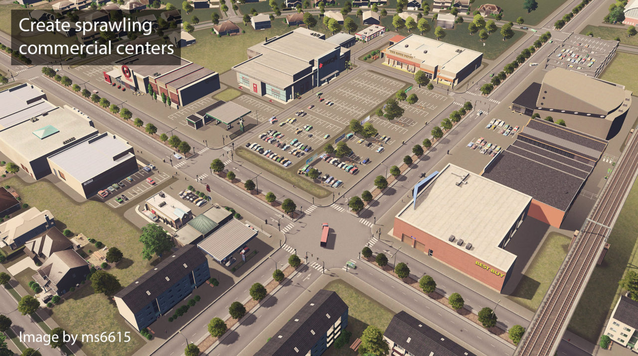 Мод Ploppable RICO для Cities: Skylines