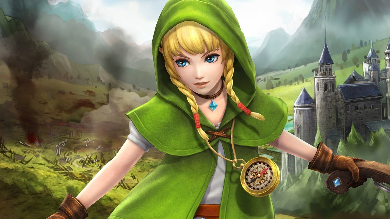 Linkle из Legend of Zelda