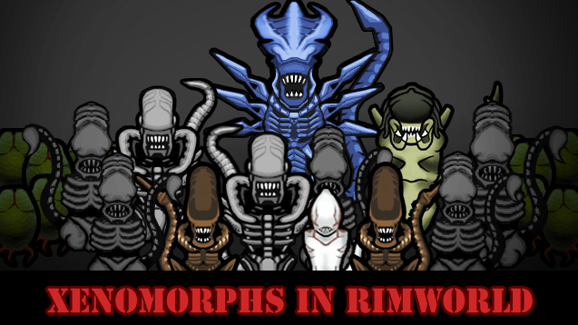 Новые расы в моде Alien Vs Predator для RimWorld