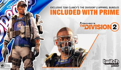 Twitch Prime для Tom Clancy's The Division 2