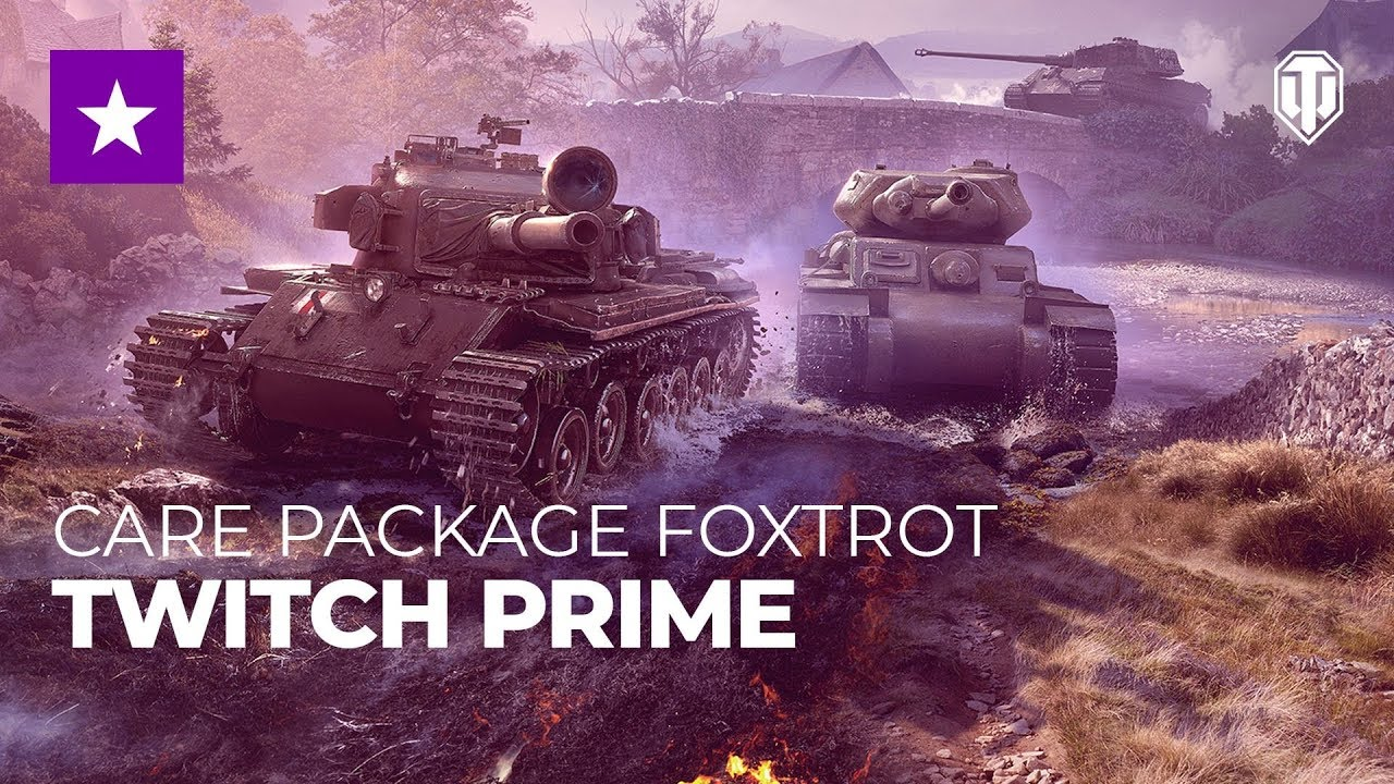 World of Tanks: Care Package Foxtrot & Captured King Tiger Tank
