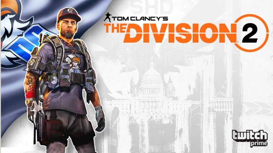 твич прайм The Division 2 DC Harriers Sports Team Fan