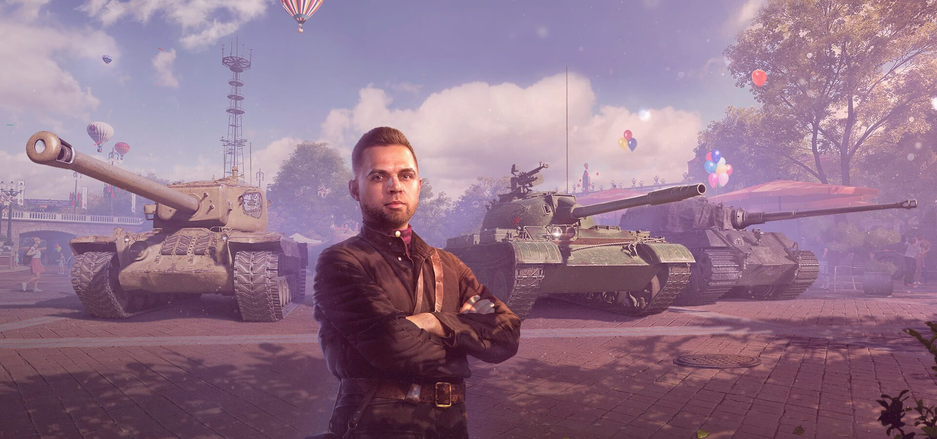 World of Tanks: Care Package Hotel & Captured King Tiger Tank