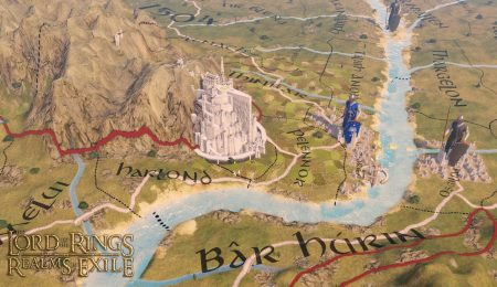 Глобальный мод Lord of the Rings - Realms in Exile для Imperator: Rome