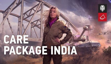 World of Tanks: Care Package India & Captured King Tiger Tank