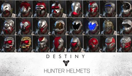 Скачать мод [WOTC] Destiny Hunter Helmet pack для XCOM 2