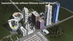 Ultimate Level Of Detail (ULOD) для Cities: Skylines