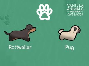 Vanilla Animals Expanded — Cats and Dogs