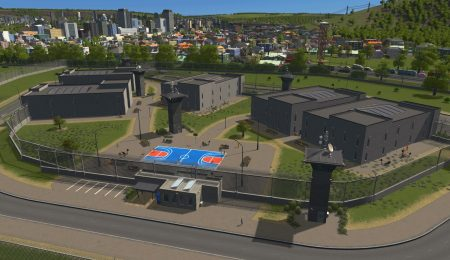 Мод тюрьмы INTERACTIVE PRISONS - Prison Pack для Cities: Skylines