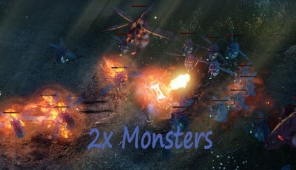 Мод 2x Monsters для Wolcen: Lords of Mayhem