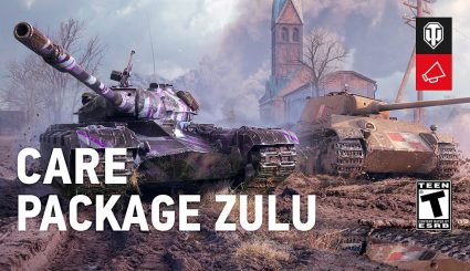 World of Tanks: Care Package Zulu & Captured King Tiger Tank