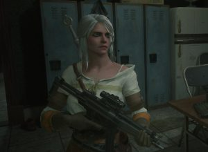 Мод Ciri from The Witcher 3 - Replacing Claire (Noir) для Resident Evil 2