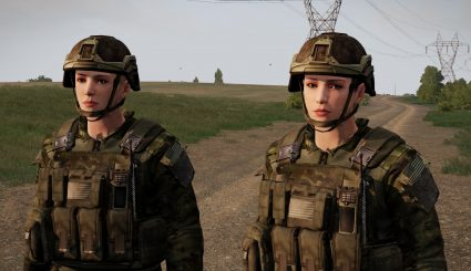 1 Мод Task Force Timberwolf Female Characters для ARMA 3