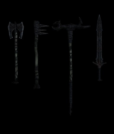 Мод оружия Heavy Armory - New Weapons для Skyrim SE