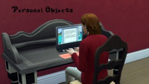 Мод Personal Objects для Sims 4