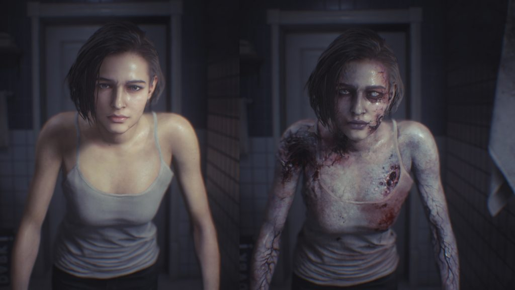 Casual Jill For Default and Zombie Jill