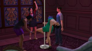 Мод Hoe it Up для Sims 4 (18+)