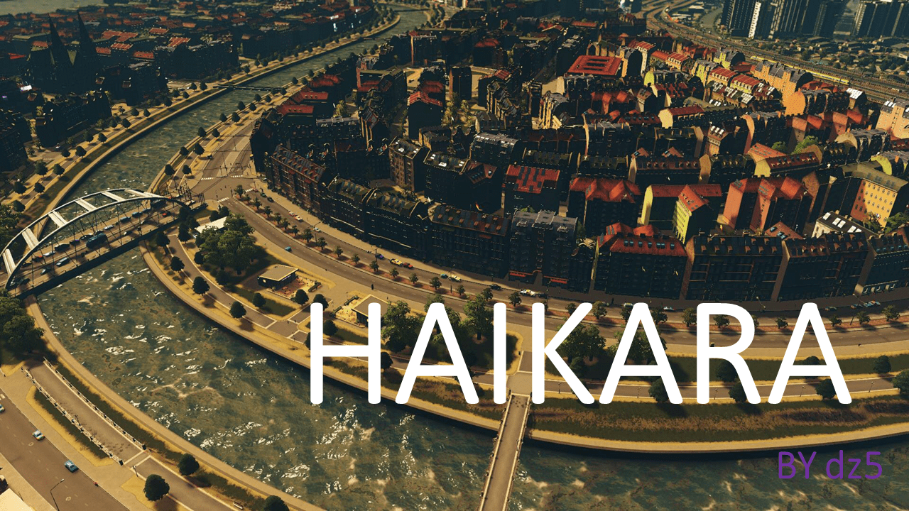 "Мод Скачать мод Haikara - ""Vanilla"" City with All themes для Cities: Skylines"