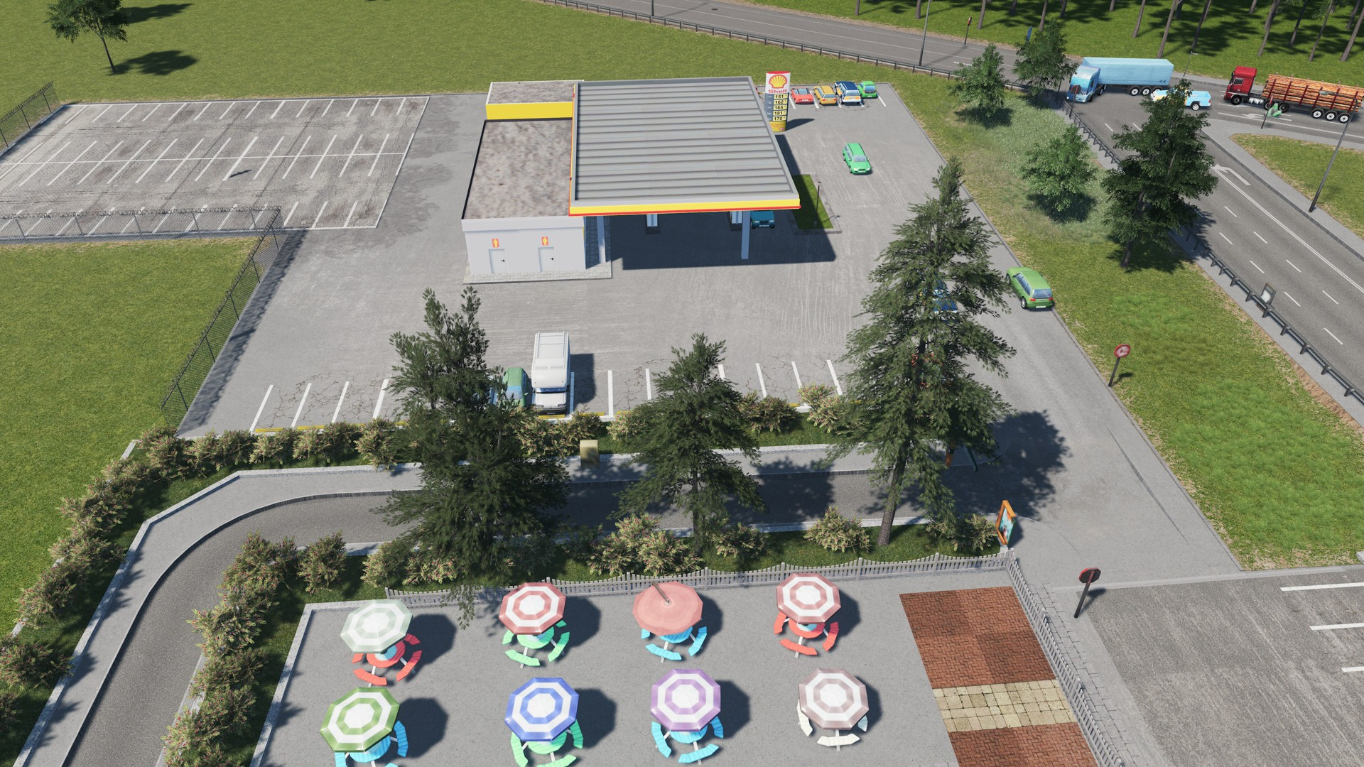 Modpack Plants для Cities: Skylines