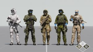 Мод Special Stealth Uniforms [SSU] для ARMA 3