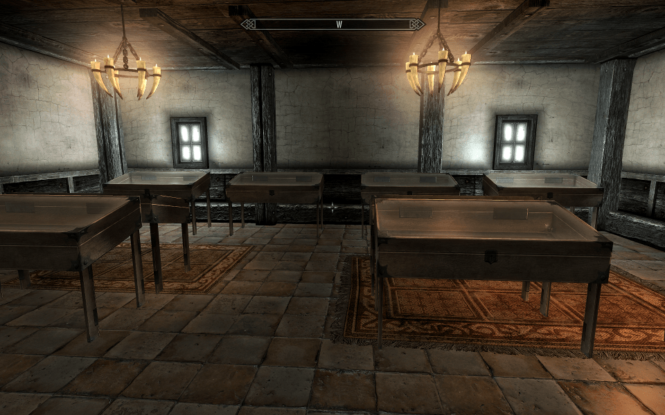 Мод Noble House Interior Redone для Enderal: Forgotten Stories