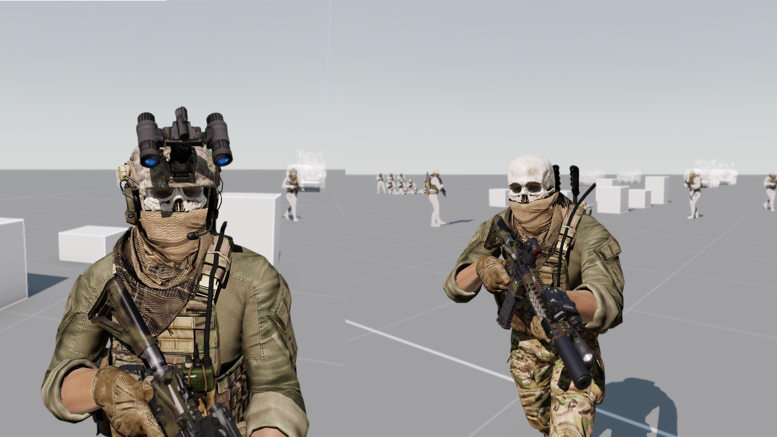 Маски Not what they seem... для ARMA 3