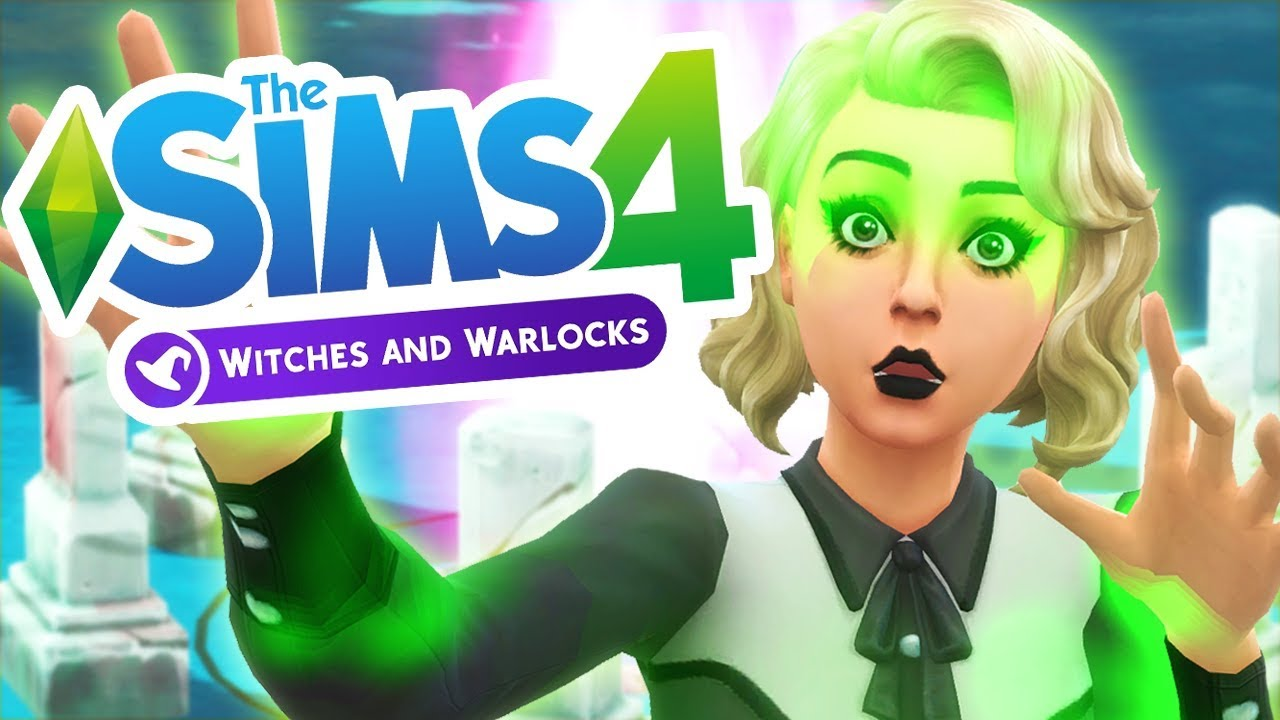 Witches and Warlocks ModPack для Sims 4