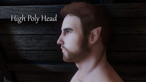 Мод High Poly Head для Skyrim LE \ SE