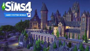 Сборка Harry Potter World для Sims 4